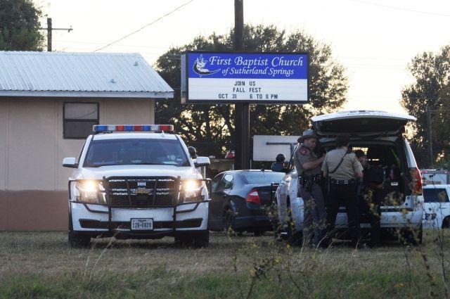 ВТехасе вцеркви произошла стрельба, неменее  20 погибших