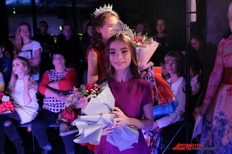 Еще одна победительница конкурса «Топ-модель по-детски 2017» Кристина Зиннурова.