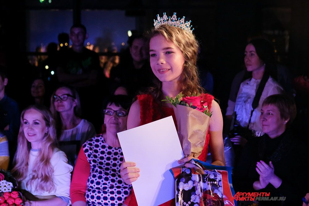 Победительница конкурса «Топ-модель по-детски 2017» Анастасия Закржевская.