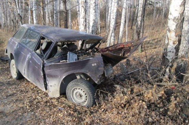 ВЧелябинской области в 2-х лобовых столкновениях погибли водители 2-х авто