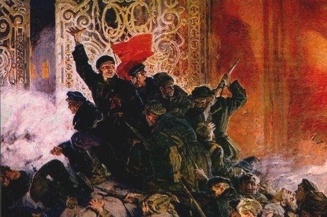 Октябрьская революция перевернула историю России.
