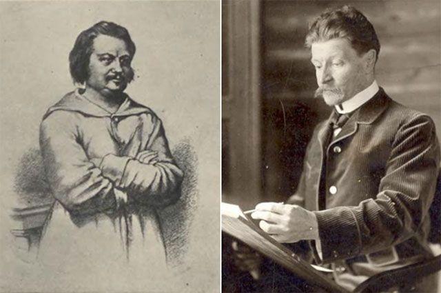 Оноре де Бальзак и Михаил Врубель.