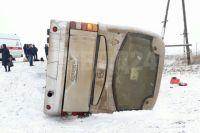 ДТП с рейсовым автобусом произошло утром 7 ноября на 989 километре автодороги Р-255.