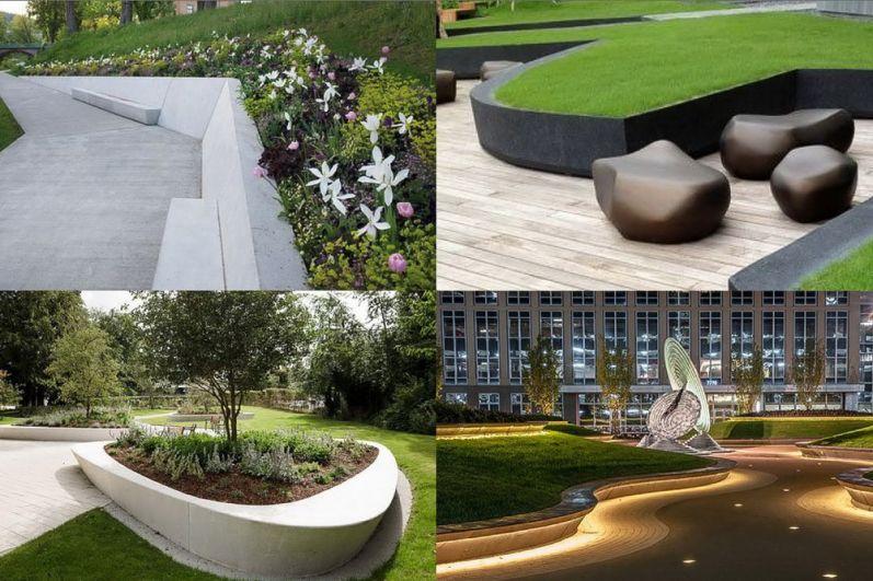 Существующие планировочные решения и прототипы парка.
