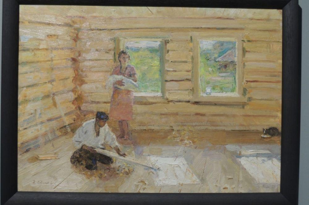 «Новый дом». Автор: Николай Новиков, 1961