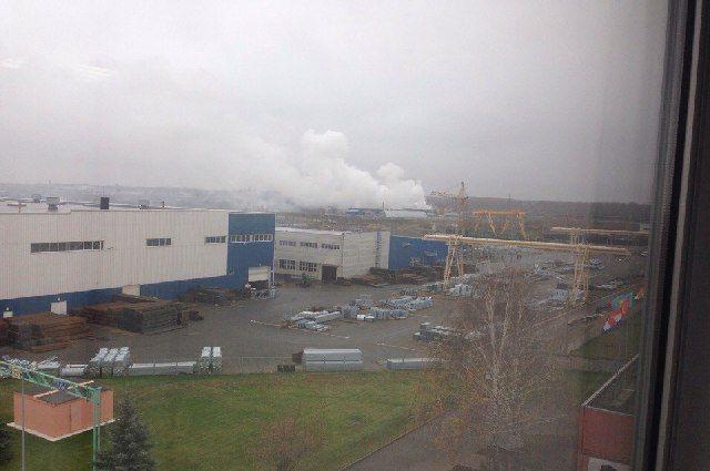 Наулице Вокзальной вРязани произошел пожар