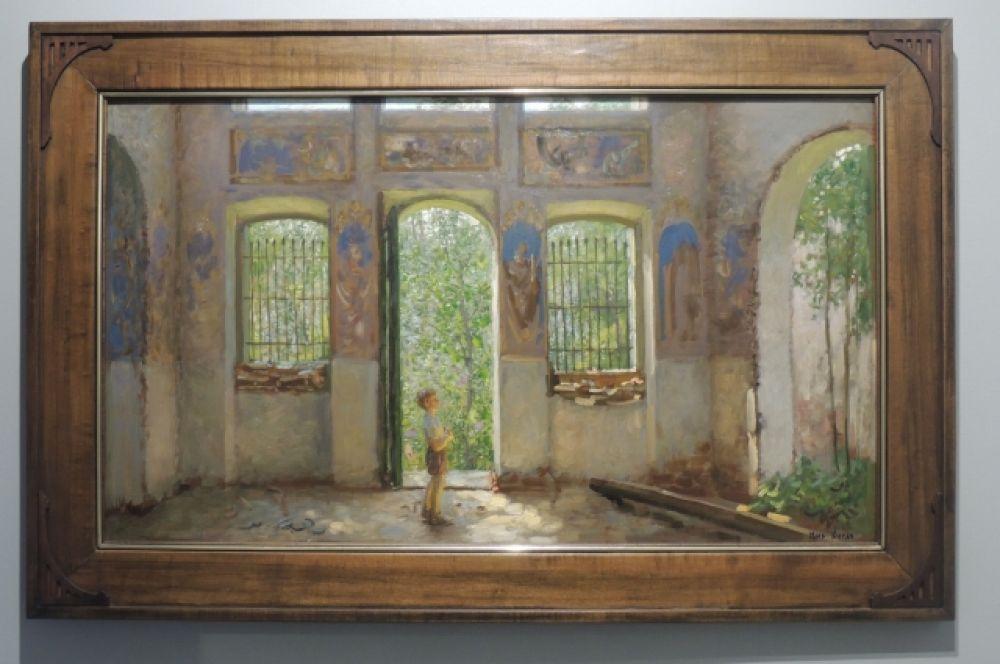 «Храм в селе Озеряево». Автор: Михаил Кугач, 2006