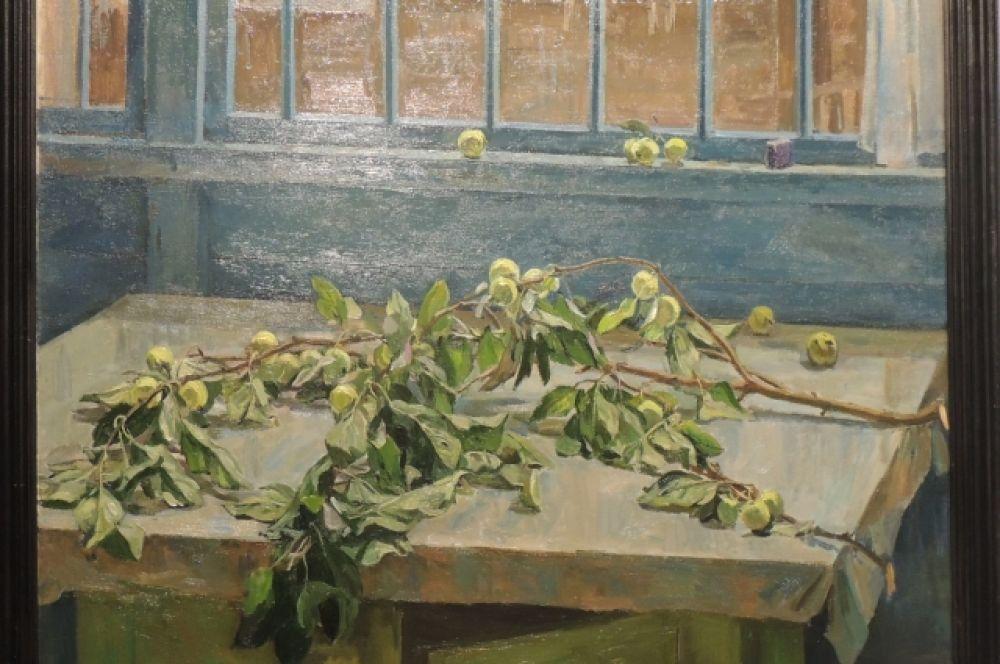 «Сломанная ветка яблони». Автор: Александр Грицай, 1974