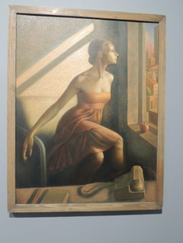 «Портрет артистки балета Усовой». Автор: Евгений Фролов, 1985
