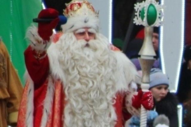 Главный Дед Мороз страны поздравит маленьких томичей