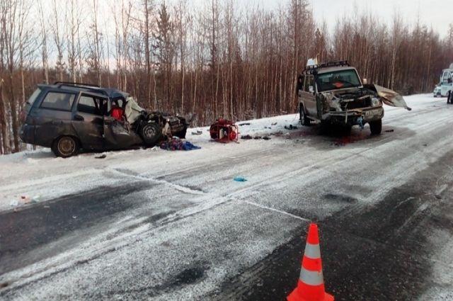 В минувшие выходные на дорогах Ямала погиб человек