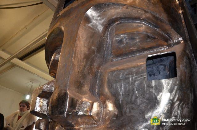 В ноябре «Маски скорби» будут установлены на Мемориальном комплексе жертвам политических репрессий.