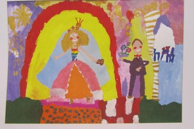 Рисунок «Моя будущая свадьба», Иванова Мария, 6 лет