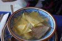 Бесбармак - очень сытное блюдо.