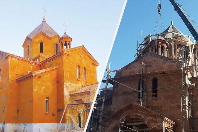 Открытие армянской церкви в Тамбове намечено на август 2018 года.