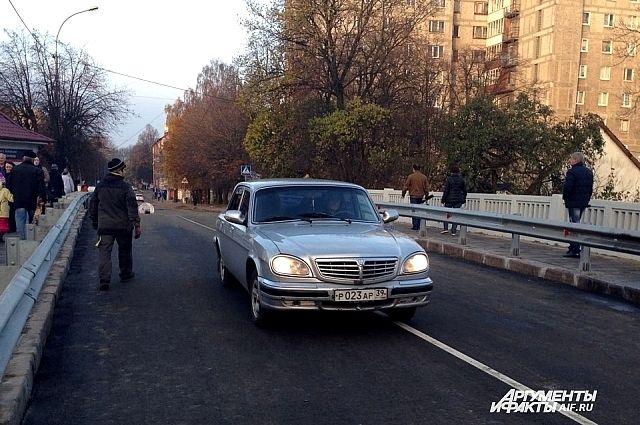 Мост на улице Киевской в Калининграде открыт раньше срока.