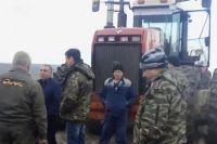 В Сергиевском пайщики вышли на поля защищать свою землю.