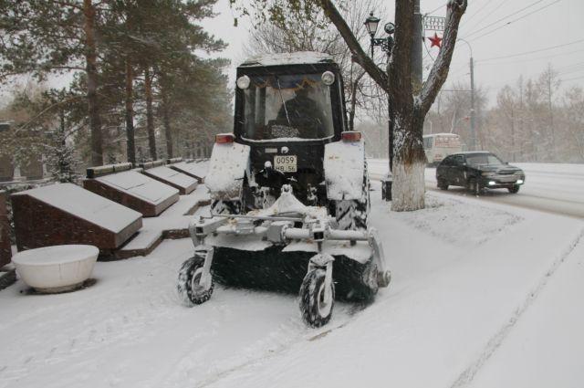 Мэрия Новосибирска закупит новейшую технику для уборки улиц за350 млн руб.
