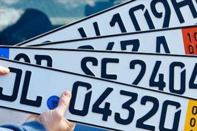 Литва проверяет машины, ввезенные в государство Украину наеврономерах