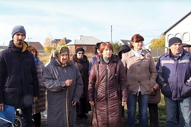 Бездорожье в Центральном округе Курска. Жителей кормят обещаниями.