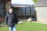 Игорь Овчинников разводит птиц для души.