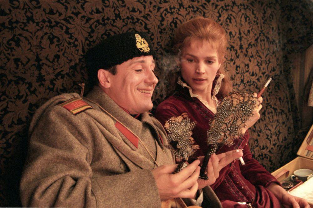 В 1998 году Меньшиков снялся в фильме Никиты Михалкова «Сибирский цирюльник», он сыграл юнкера Андрея Толстого.