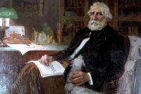 Портрет И.С. Тургенева работы художников братьев Курнаковых.