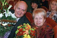 Николай Добронравов и Александра Пахмутова.