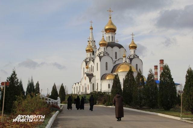 Свято-Иверский женский монастырь в Ростове-на-Дону.