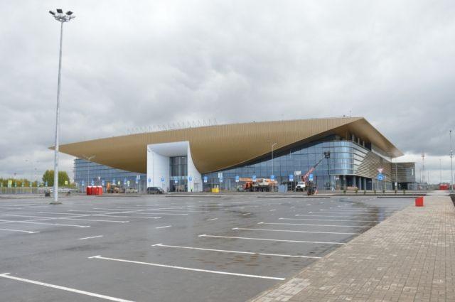 До конца года в пермском аэропорту введут в эксплуатацию новый терминал.