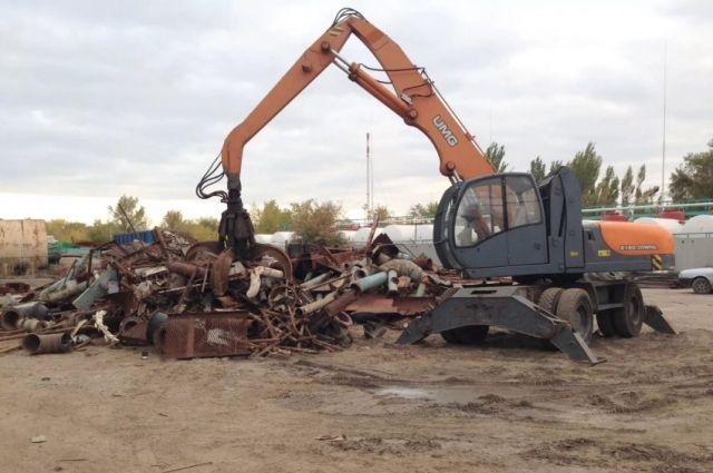 В Пуровском районе охранники задержали охотника за металлом