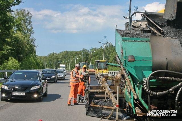 Более 134 км автодорог отремонтируют в Нижегородской области в 2018 году.