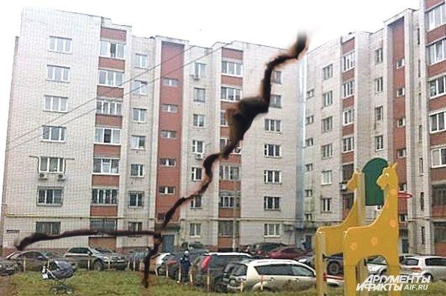 Квартиры в аварийном доме до сих пор продают в Сети как «тёплые и уютные».