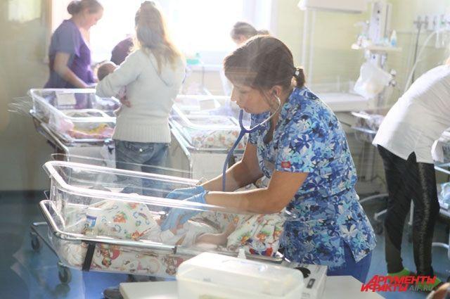 Женщины вКрасноярском крае стали рожать позже