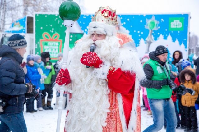 Впереди у Деда Мороза еще 24 города