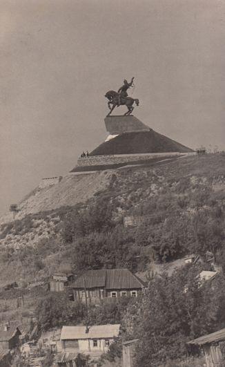 Памятник Салавату Юлаеву.