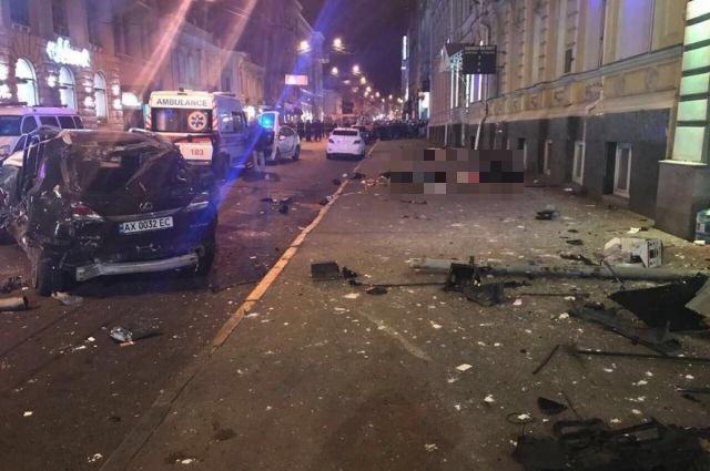 ДТП в Харькове: Водитель Volkswagen Дронов провел ночь в СИЗО