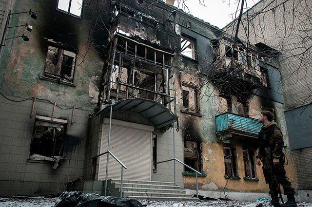 Дом в Дебальцево.
