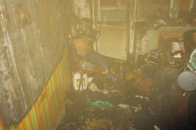 ВЯрославле впожаре умер 40-летний мужчина