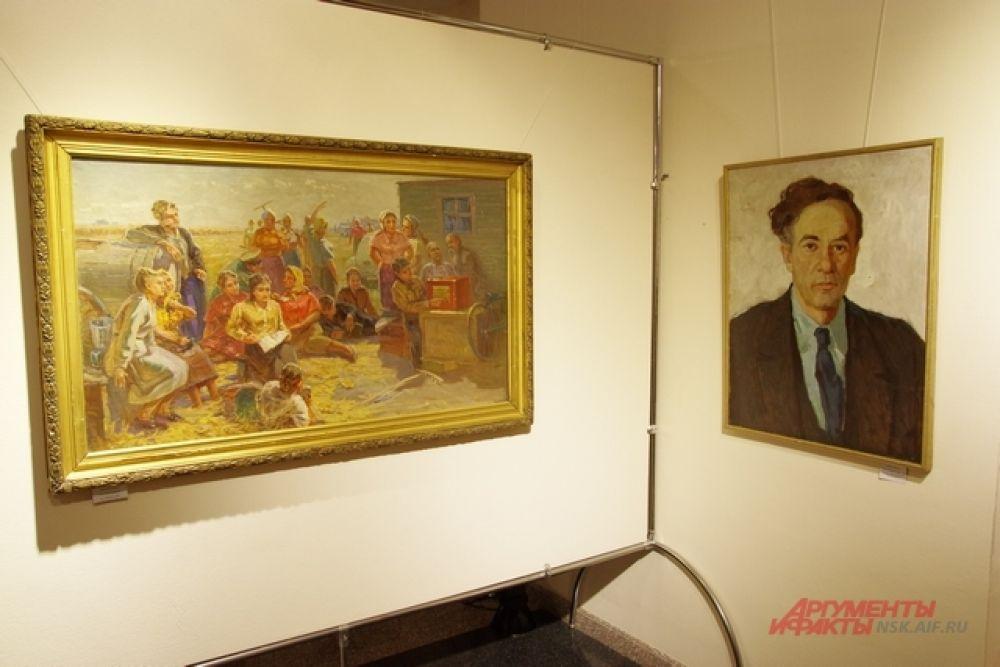 Работы, представленные в экспозиции, представляют большую ценность. Многие из них до этого ни разу нигде не выставлялись.