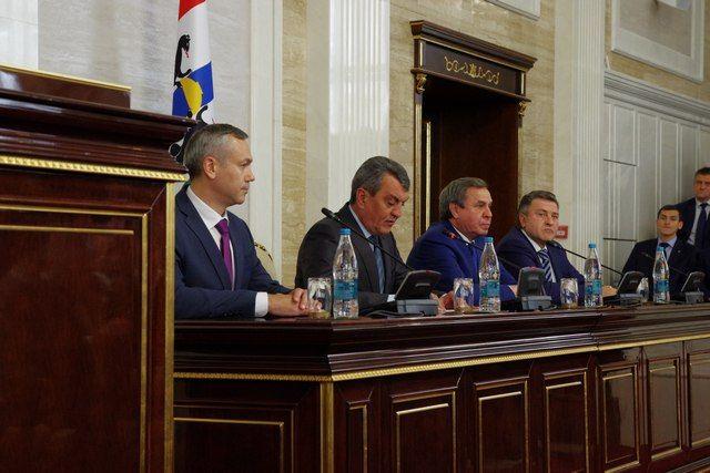 Андрей Травников стал врио губернатора Новосибирской области 9-го октября 2017 года.