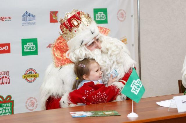 Дед Мороз заготовил немало подарков для жителей Красноярска.