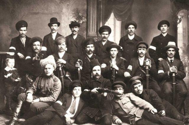 Милиция Лысьвы. 1917 год.