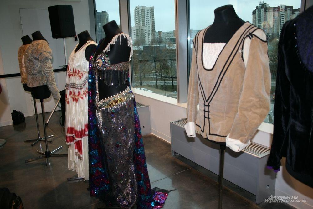 Балетные костюмы династии Лиепа  будут экспонироваться в Ельцин центре всего четыре дня.