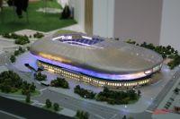 Макет стадиона «Динамо».