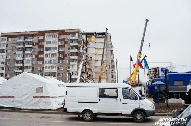 Предположительный эпицентр взрыва находился на третьем этаже.