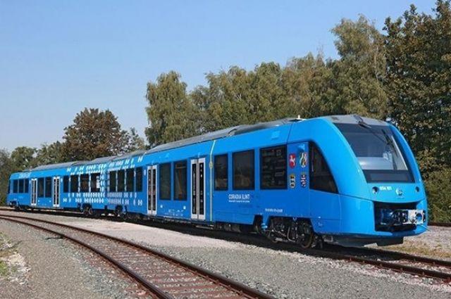 ВГермании прошла презентация первого серийного водородного поезда