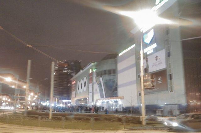 Эвакуация произошла около 22.00.