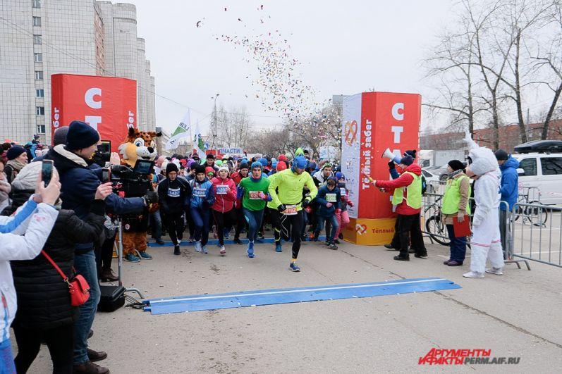 После забега все участники получили медали и тёплые варежки в память о мероприятии.