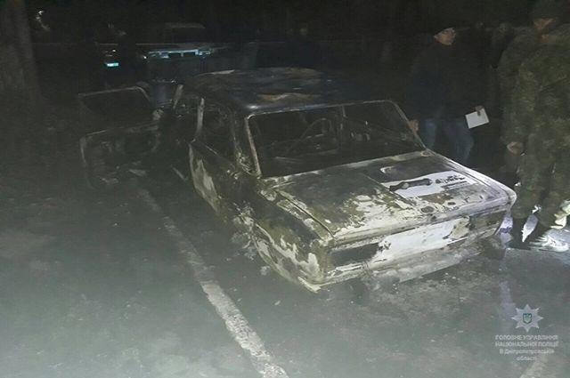 Полицейских атаковали изгранатомета наДнепропетровщине